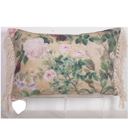 Chenille Cushion 60x40cm - cushion cover with insert