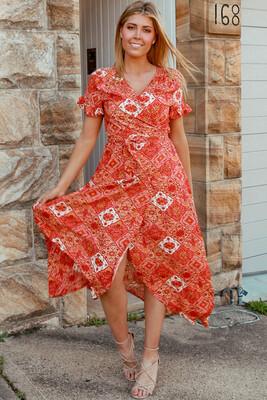 Alia Long Midi Dress