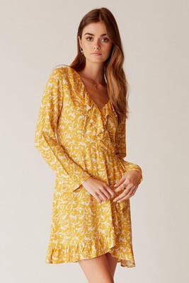 Aneesa Ruffle Dress