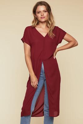 Elda Overlay Tunic Dress