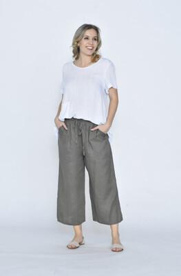 Linen Pants Khaki