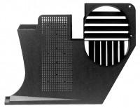 PANEL-KICK WITH VENT-BLACK-LEFT-68-77 (#E7984) 5E