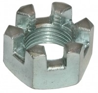 NUT-CASTLE-REAR SHOCK MOUNT BOLT-63-82 (#E3069)  5D4