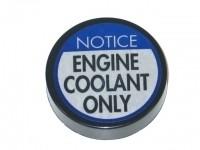 CAP-COOLANT PLASTIC-77L-82 (#E2582) 1C3'