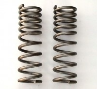 SPRINGS-FRONT COIL-SMALL BLOCK-AUTOMATIC W/OUT AC-4 SPEED ALL-PAIR-68-74(#E8096)566.4