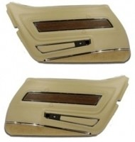 PANEL-DELUXE-WITH WALNUT INSERT-PAIR-70-76(#E12992)