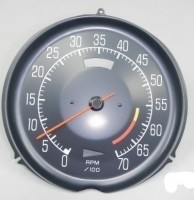 TACHOMETER-ASSMEBLY WITH 6000 RED LINE-L-82-75-77(#E14708)