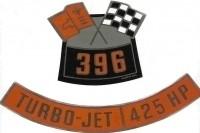 DECAL-AIR CLEANER-396-425-PAIR-65 (#13004) 5C3