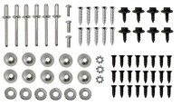 HARDWARE SET-TO INSTALL 3-DOOR RR COMPARTMENT AND MAIN FRAME-78-79E (#EC509) 3D3