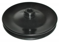 PULLEY-POWER STEERING-SINGLE GROOVE-STAMPED STEEL-PRESS FIT WITH KEYWAY-CORRECT-63-74 (#E2024)