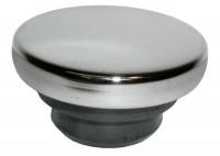 CAP-OIL FILLER-CHROME-RUBBER-FOR 1 1/4