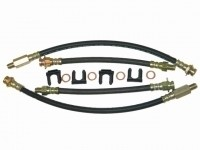 BRAKE HOSE CAR SET-WITH CLIPS AND WASHERS-63-82 (#E13165) 3B3