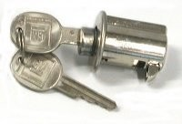 LOCK-CENTER REAR STORAGE COMPARTMENT-WITH KEYS-68-82(#E10847) 3A4