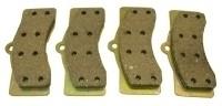 PAD SET-DISC BRAKE-AXLE SET (4 PADS )-65-82 (#E1800)  3B6