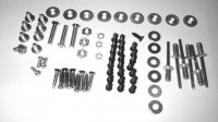 HARDWARE SET-TO INSTALL 3-DOOR RR COMPARTMENT AND MAIN FRAME-68-72 (#EC507) 3D3