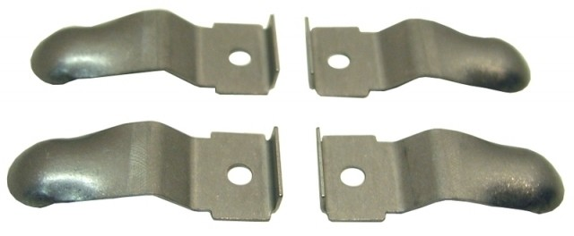 CLIP SET-RETENTION-FORWARD CONSOLE SIDE TRIM PANEL-USA-4 PIECES-68 (#EC254) 3C4