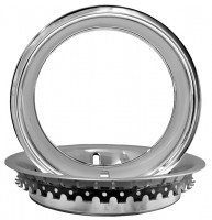 TRIM RING-POLISHED STAINLESS STEEL-IMPORT-EACH-68-82 (#EC217)