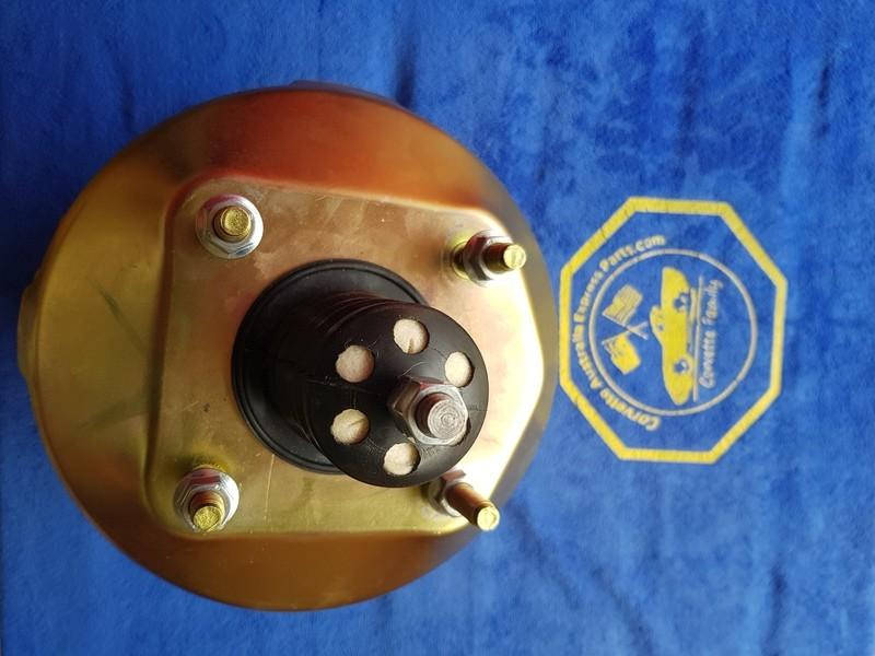 BOOSTER-POWER BRAKE-NEW-GOLD CADMIUM PLATED-77-82 (#E6015) 1BB7