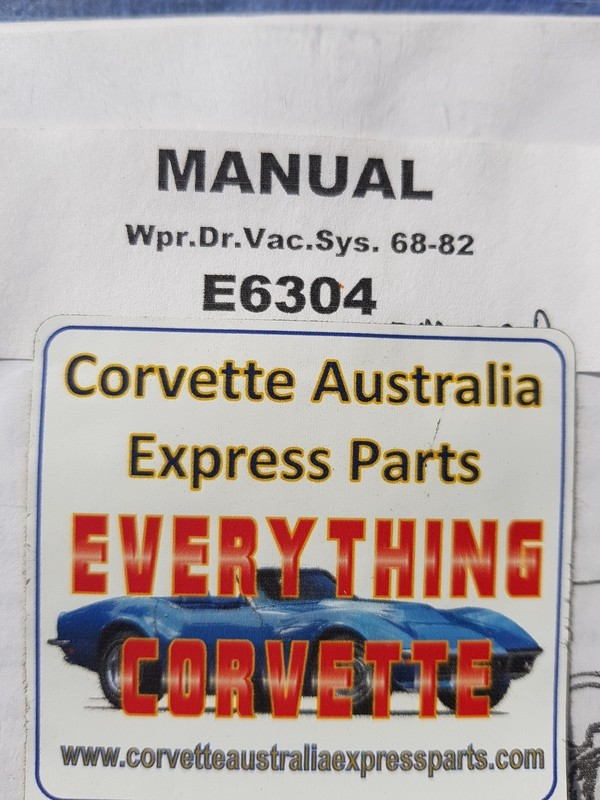 MANUAL-WINDSHIELD WIPER VACUUM SYSTEM AND HEADLAMP-TROUBLESHOOTING-68-82 (#E6304) 1B3