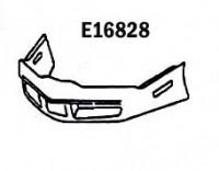 BUMPER-FRONT-FIBERGLASS-HAND LAYUP-80-82 (#E16828)