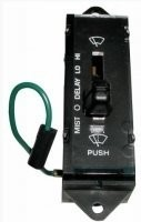 SWITCH-WINDSHIELD WIPER-NEW-WITH SMALL SOCKET-86-89 (#E20483)
