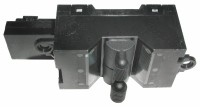 SWITCH-POWER WINDOW-WITH GRAY LEVERS-LEFT-90-91 (#E13323) 5A3