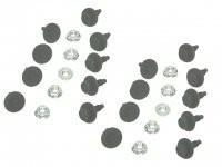 MOUNT KIT-FRONT AIR DAM-SPOILER EXTENSION-28 PIECES-80-82(#E14120) 3C3