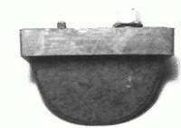 BUMPER-REAR CONTROL WITH NUT-EACH-76-82(#E12344)