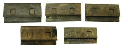 CLIP SET-WIPER DOOR TRIM-5 PIECES-68-72 (#EC187) 3C4