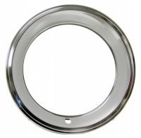 TRIM RING-RALLY WHEEL-STAINLESS STEEL-USA-EACH-67-67 (#E1979)