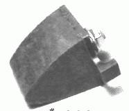 BUMPER-REAR CONTROL ARM WITH NUT-EACH-65-75 (#E9134) 2C4