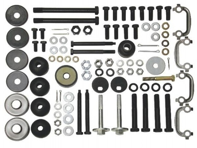 SUSPENSION KIT-REAR MOUNTING-65-68 (#E7735) 2D4