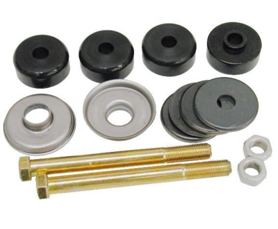 MOUNT KIT-REAR SPRING-14 PIECES-POLYURETHANE-REPLACEMENT STYLE BOLTS-63-82 (#E18215) 2C4