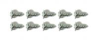 SCREW KIT-WINDSHIELD-A PILLAR WEATHERSTRIP-10 PIECES-68-82(#E19268) 4B4