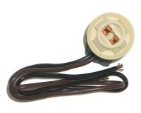 SOCKET-SIDE MARKER LAMP-STRAIGHT SOCKET-70-87 (#E12566) 1F2