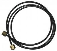 LINE AND FITTING KIT-OIL PRESSURE-SMALL BLOCK-BLACK NYLON-68-73 (#E1937) 1F2