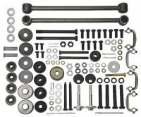 SUSPENSION KIT-REAR MOUNT-INCLUDES BUSHINGS AND STRUT RODS-69-74 (#E7744)
