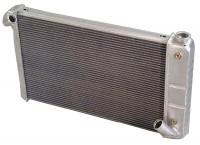 RADIATOR-ALUMINUM-NATURAL-DIRECT FIT-350 CI-AUTO-69-72 (#E8949) USA SUPPLY