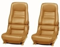 COVER-SEAT-100% LEATHER-2 INCH BOLSTER-78 PACE-79-82 (#E7082)