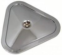 LID-AIR CLEANER-CHROME-TRI POWER-67-69(#E8016)