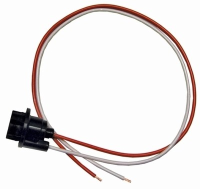 SOCKET-INTERIOR LAMP BULB REPAIR-UNDER DASH COURTESY-WITH PIGTAIL-68-77 (#E11769) 1F2