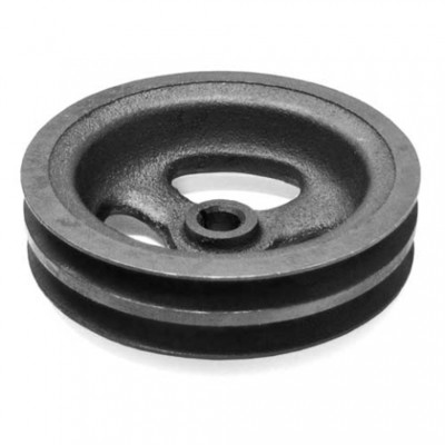 PULLEY-POWER STEERING-396-427-454 -2 GROOVE-CAST-65-74 (#E8852) 2A2