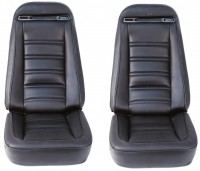 COVER-SEAT-100% LEATHER-4 PIECES-72-74 (#E6963)