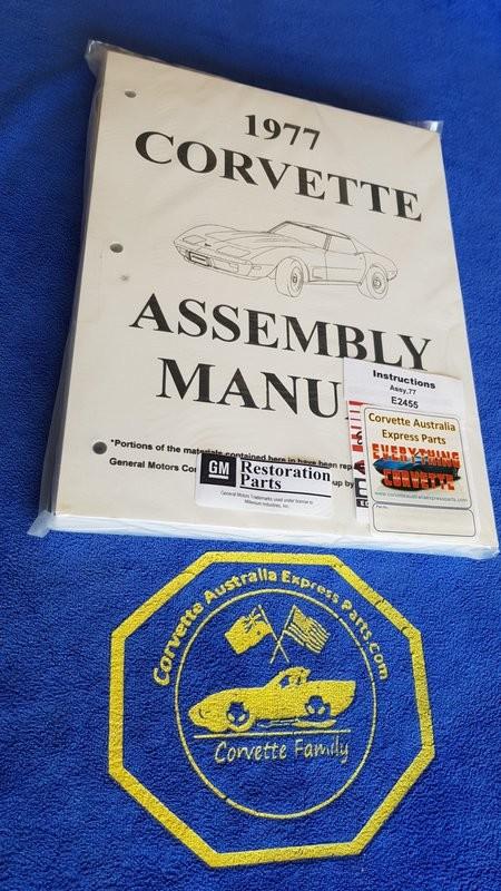 ASSEMBLY MANUAL-77 (#E2455) 1B3