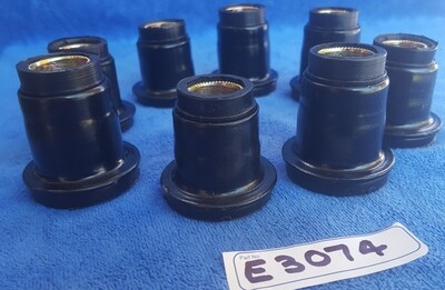 BUSHING SET-FRONT A ARM-UPPER AND LOWER-RUBBER-SET OF 8-USA-63-82 (#E3074)