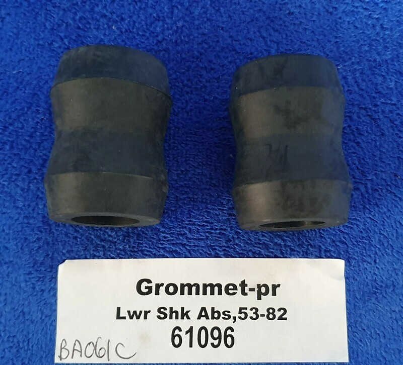 GROMMET SET-SHOCK ABSORBER-REAR LOWER-RUBBER-PAIR-53-82 (#61096) 5D4