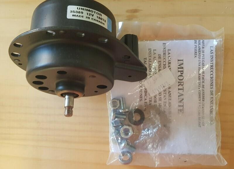 Motor-Radiator cooling-84-89 (#E6101) 1BB2