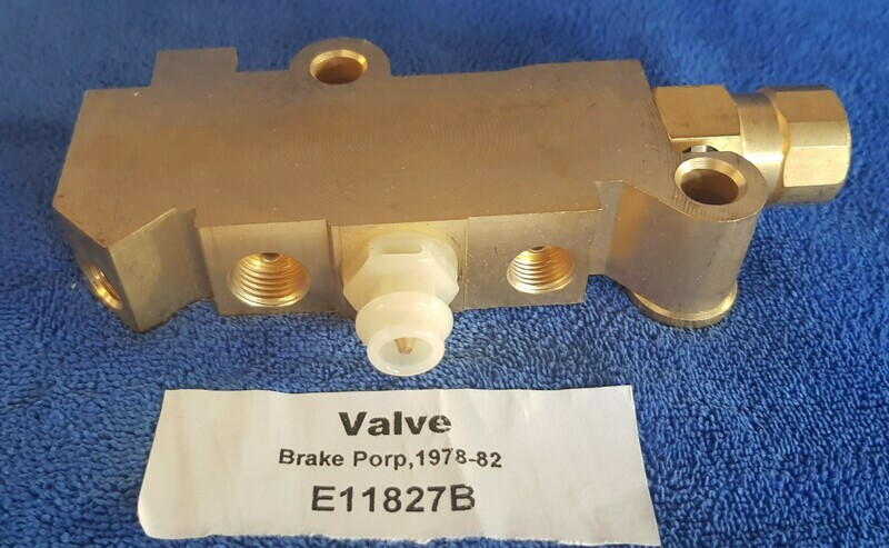 VALVE-BRAKE PROPORTIONING-78-82 (#E11827B)