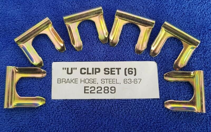 CLIP-U-BRAKE HOSE-6 PIECES-53-96 (#E2289) 3B3