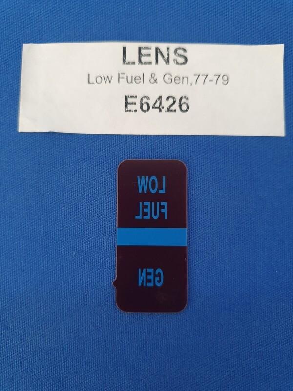 LENS-LOW FUEL-GENERATOR-77-79 (#E6426)